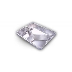 Disposable maaltijdschalen CPET/aluminium