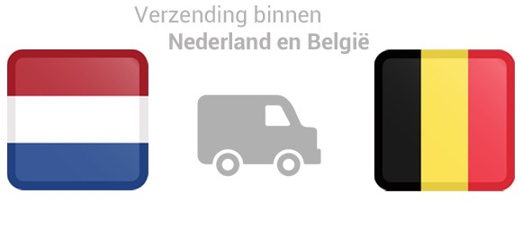 Verzending binnen Nederland & België